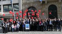 Gruppenfoto Rare Disease Day Düsseldorf 2015