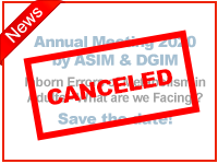 Canceled: Annual Meeting 2020 by ASIM & DGIM Inborn Errors of Metabolism in Adults - What are we Facing ? Save the Date!